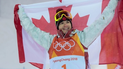 Canada moguls star Kingsbury cements dominance with a gold medal