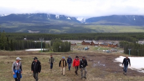 Lake Louise inspection goes off without a hitch, or a bear
