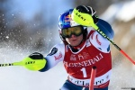 Pinturault powers through to Val d'Isere slalom win