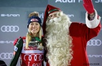 It's a milestone day for Shiffrin in Levi