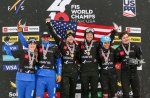 Jacobellis and Dierdorff claim first ever snowboard cross mixed team world title