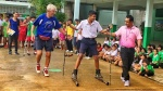 Rollerski events spread in China and Thailand