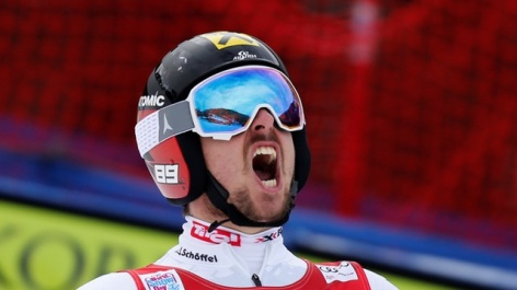 Marcel Hirscher claims the Beaver Creek giant slalom