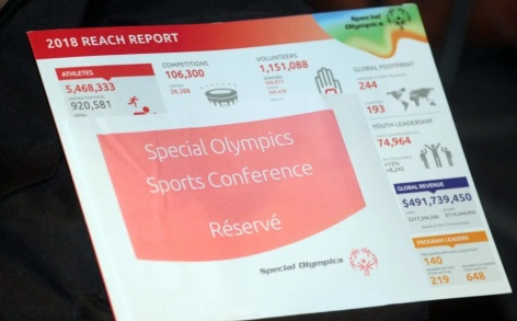 FIS presents at Special Olympics Eurasia Conference in Luxembourg