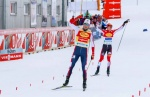 Jarl Riiber masters tough conditions in Ramsau am Dachstein