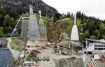Construction work for Oberstdorf 2021 well on track