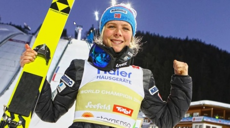 Olympic Champion Maren Lundby now also World Champion
