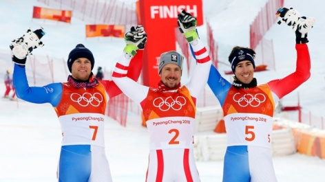 Hirscher claims the missing gold medal