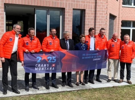 Hand-over of Crans-Montana 2025 candidacy