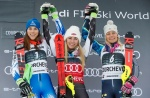 Mikaela Shiffrin wins 50th career World Cup